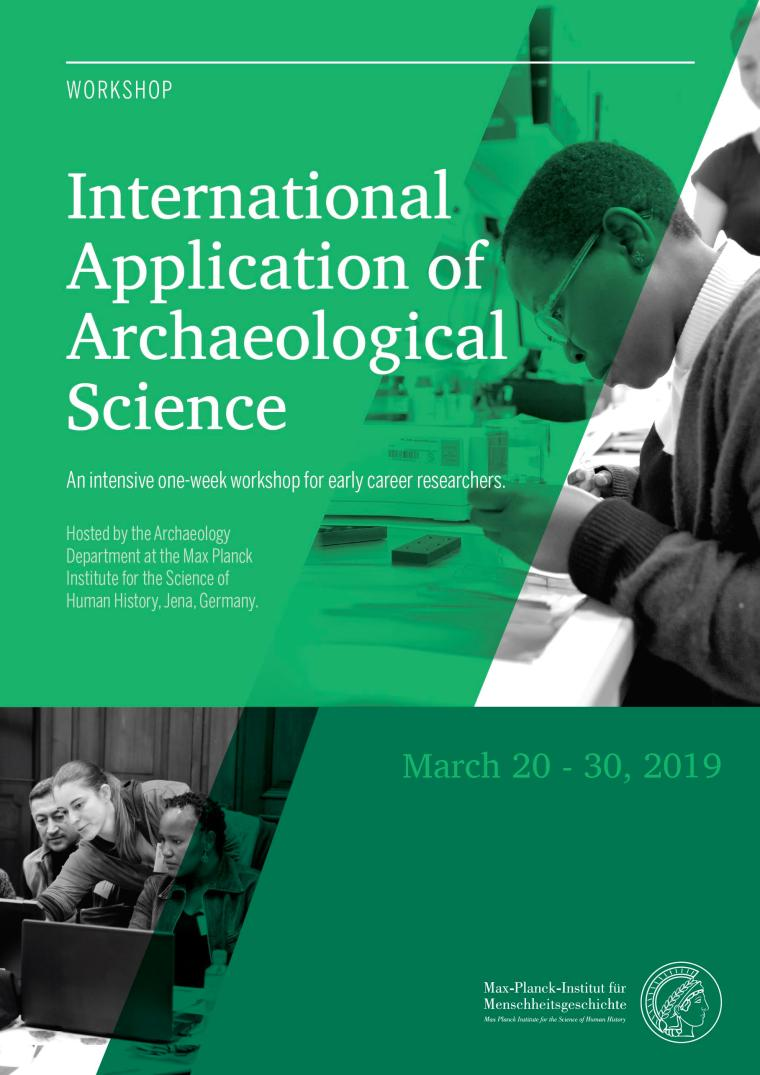 International Application of Archaeological Science